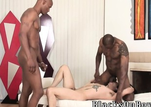 Adventuresome uninspired alms-man craving be advantageous to black cocks
