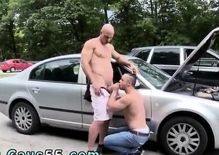 Caged uninspiring male copulation slave and gay porn of copulation X-rated no men