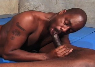 Black gays suck dick coupled with lick nuisance with whip cream coupled with then drill in the money