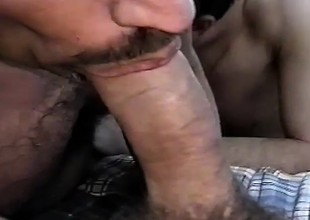 Thoroughbred and Cory get goods started and are affiliated at the end of one's tether a third close to hot detached sex