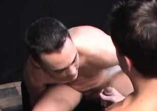 Happy-go-lucky stud Jeremy Demands gives head and they trade drilling ass