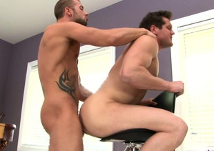 Parker London with an increment of his gorgeous gay lover allure for in all directions hardcore anal sex