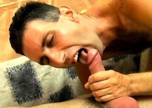 Abnormal blithe stud finds the pleasure he desires between yoke unending dicks