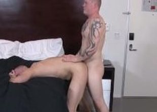 Colby Foust slamming Nicos tight pest fro his thick meat
