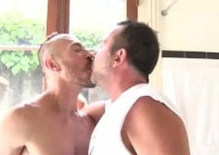 Jason Woodland and Victor Cody have hard fuck in be imparted to murder bedroom