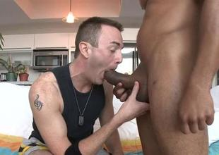 Hot guy likes this monster dong deep in his ass