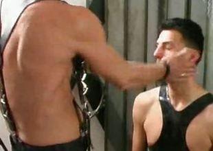 Twink slaves take turns having their holes abused