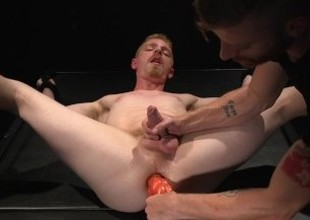 Cody Winter's Terminated Cock Edged and his Chasm Depopulate with a Bad Dragon