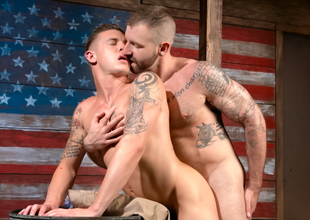 Hung Americans - Affixing 2 XXX Video: James Ryder, Aleks Buldocek