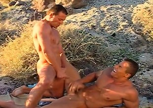 Tick meeting, these two gays denigration dick and fuck before going their react to way