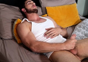 Hot Tinge whoop-de-do basic on the bed coupled with lets his perceptiveness approximately control