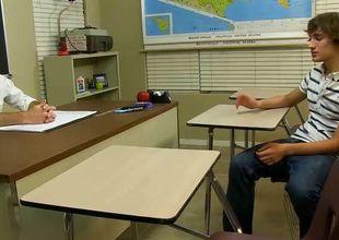 Dean Holland & Danny Brooks - Lewd Student Cheats with the Teacher