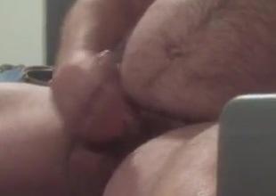 Hot Bear cum 2