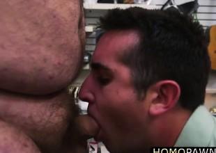 Hairy bore dude fucked hard hard by dudes