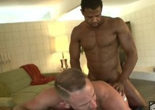 Black Muscle Aaron fucks bug furuncle butted Tank Shay Michaels