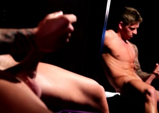 Crazy Cole Christiansen lets you take a look at one's fingertips his pompously prick