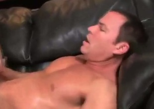 Gay stud lovers assfucking