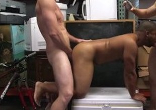 Desperate guy sucks detect plus let four dudes fuck his asshole