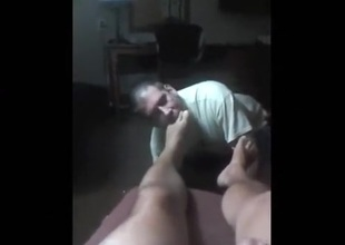 Foot Worship - Clip 1 of 3