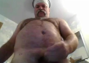 sexy grandad cum on am