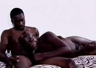 Black Men Sizzling Groupsex