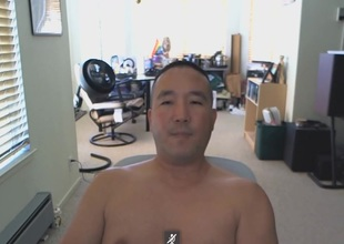 Asian Daddy Exposed More than Cam
