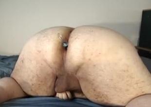 Chunky bottom - anal beads