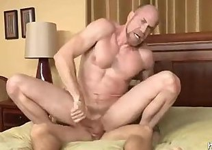 Dad And Son Enjoy Some Hot Assplay