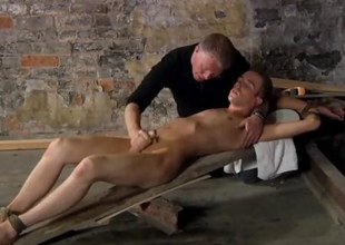 Amateur twink gets fucked by an old master