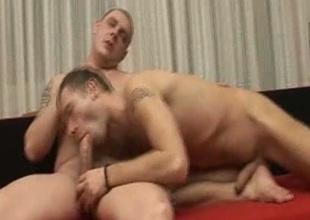 Sexy Gay Men Bareback Fucking