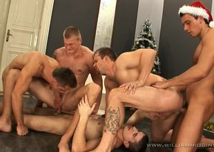 Christmas Wank Party Part 2