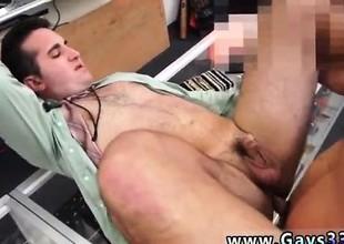 Hot blithe anal masturbation and direct Negro thug gets finge