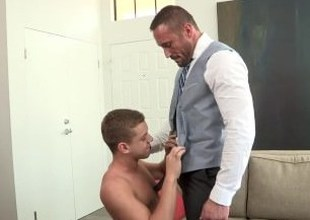 DylanLucas Suitable Up Daddy Takes Mete out Over Twink
