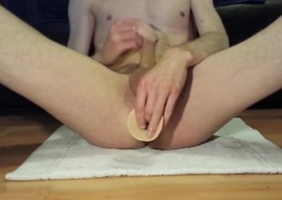 Some dildo play
