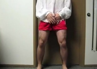 Silk Shirt and Boxers CUM
