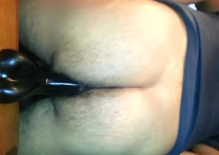 Jugando con mi dildo 2