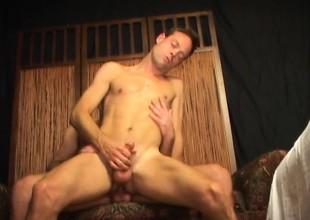Attractive young boys with large dicks blowing and banging evermore rotation